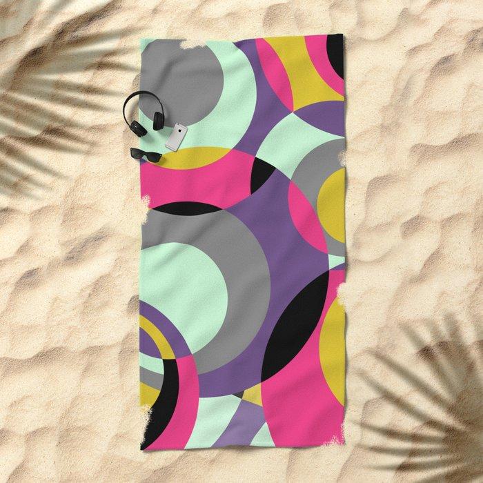 CirclesGame II Beach Towel