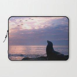La Jolla Sea Lion Laptop Sleeve