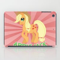 mlp iPad Cases featuring MLP FiM: Applejack by Yiji