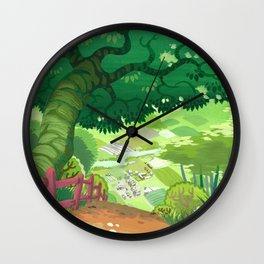 Path to Town Wall Clock