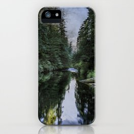 Spawning a River iPhone Case