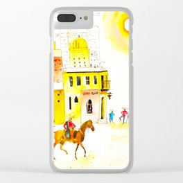 Somewhere in Mexico Clear iPhone Case
