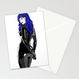 Miss Blue Stationery Cards