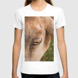 Window to a goat's soul  T-shirt