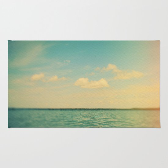 The Story of Clouds Rug