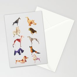 Dog breeds Stationery Cards
