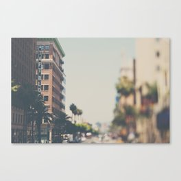 the Taft Building ... Canvas Print