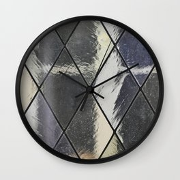 Stained glass Wall Clock