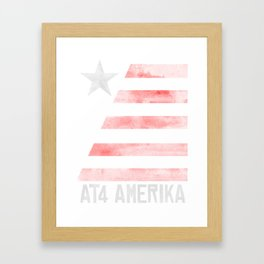 AT4 AMERIKA Framed Art Print