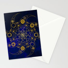 Golden Transitions Stationery Cards