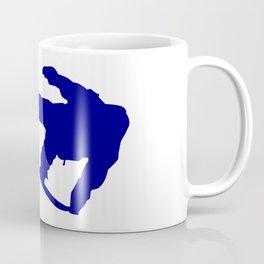 Snowboard Jumping Silhouette Coffee Mug