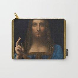 Leonardo da Vinci - Salvator Mundi - Digital Restored Edition Carry-All Pouch
