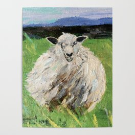Big fat wooly sheep Poster