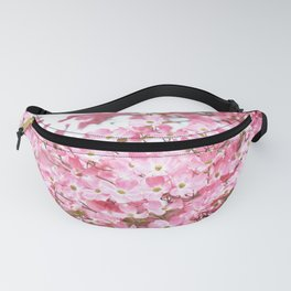 PRETTY PINK FLOWERS - DOGWOOD TREE 3 Fanny Pack