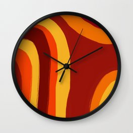 Warmth Wall Clock