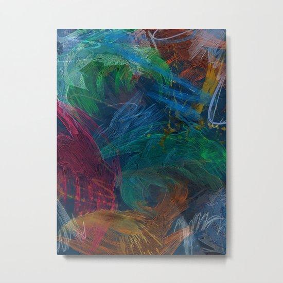 Festival of Colors Metal Print