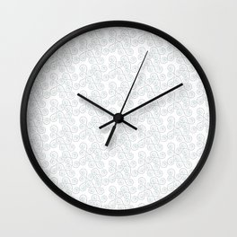 Stitch a Whirl Wall Clock
