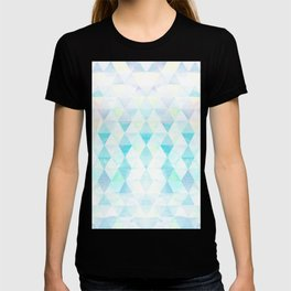 Zen Flow - Fading Watercolor Triangles T-shirt