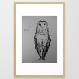 Cunt Framed Art Print