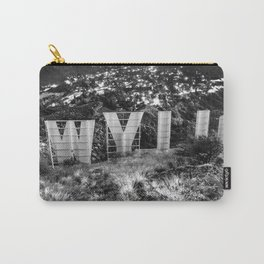 Behind the Hollywood Sign - © Doc Braham; All Rights Reserved. Carry-All Pouch
