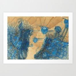 Vitae Sanctorum IX Art Print