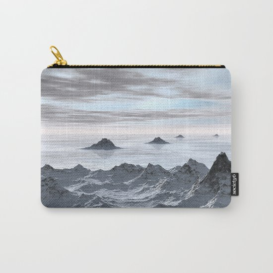 Frozen Arctic Sea Carry-All Pouch