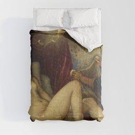 "Titian (Tiziano Vecelli) ""Danae receiving the Golden Rain"", 1553-1554 Comforters"