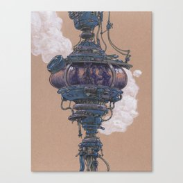 Bubble in the Line Canvas Print