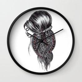 GIRLZ - COFFEE Wall Clock