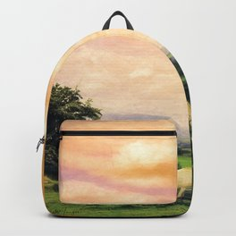 Farmland in Cumbria Backpack