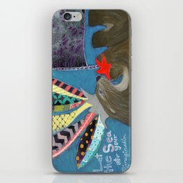 Let the Sea Stir Your Imagination iPhone Skin