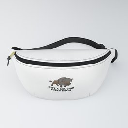 Just a Girl Who Loves Bison Fanny Pack