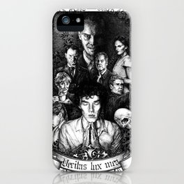 Verita lux mea iPhone Case