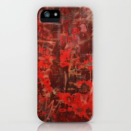 Hypovolemia Revisited iPhone Case