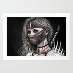 Ashes and What Once Was Art Print