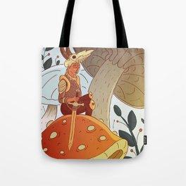 Tiny Warrior Tote Bag