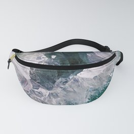 Amethyst Abstract Fanny Pack