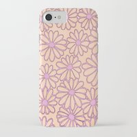 daisies iPhone & iPod Cases featuring daisies by clemm