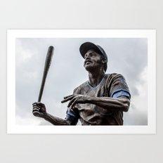Billy Williams Statue - Wrigley Field Art Print