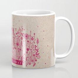 Ghibli Pattern Poster Project / Spirited Away  Coffee Mug