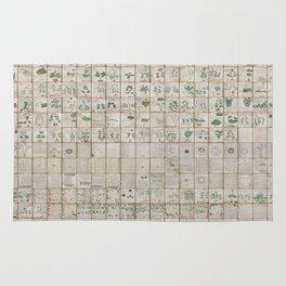 The Complete Voynich Manuscript - Natural Rug