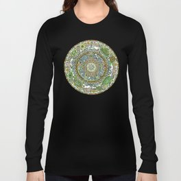 121 - Turtle Mandala Long Sleeve T-shirt