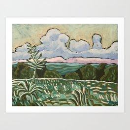 Century Plant Art Print