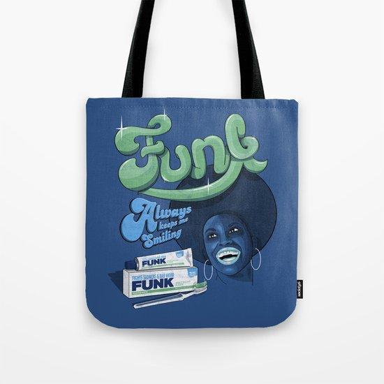 FUNK - ALWAYS KEEPS ME SMILING Tote Bag