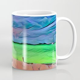 Bench View Coffee Mug