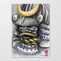 samurai Canvas Prints featuring Samurai by rchaem