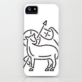 Agnus Dei - Lamb of God iPhone Case