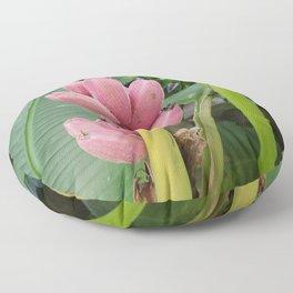 Pink Banana Floor Pillow