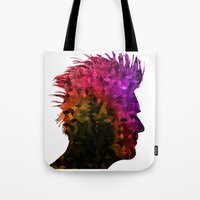 punk Tote Bags featuring punk by KrisLeov