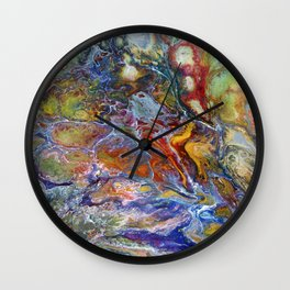 Chromatc Spring Wall Clock